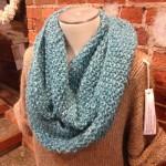 gap-tastic cowl, cowl, knit