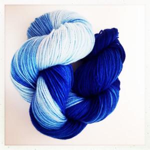 Ball of yarn for Darn Yarn Club